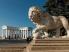 Лев возле дворца графа Воронцова в Одессе